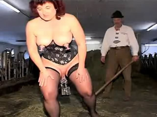 swingers from Denmark fuck with a horse in the...